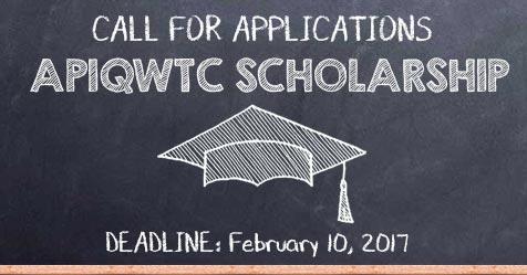 APIQWTC Scholarship 2017
