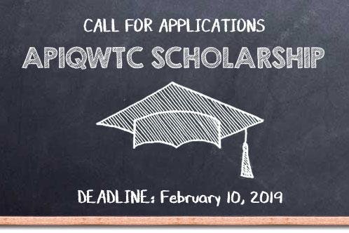 APIQWTC Scholarship 2018