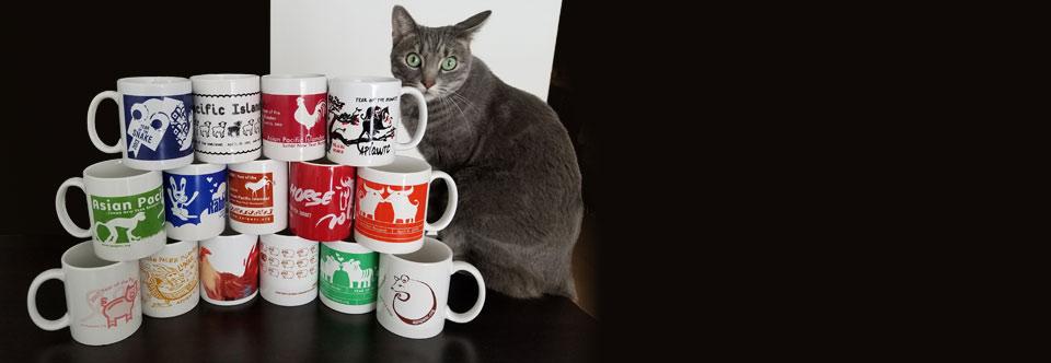 Meowww! Mug Art Commission!