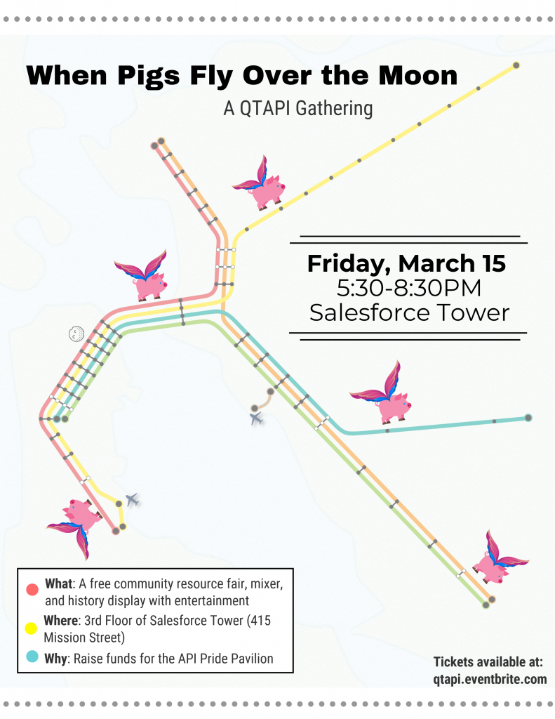 3/15/19 - When Pigs Fly Over the Moon - A QTAPI gathering